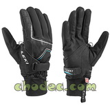 Leki Nordic Thermo Shark black-black-cyan